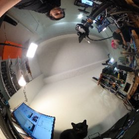 #deskofladyada in 360 with MOSFET #theta360