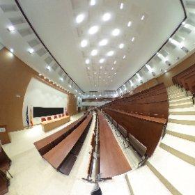 Aula magna. Facultad de Físicas. Universidad Complutense de Madrid #theta360