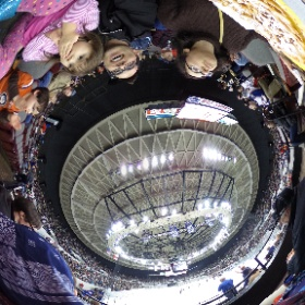 Funnel Cake deliciousness at the #Norfolk #Admirals game #jpixx #theta360