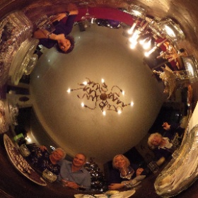 2017 Kerst tafel #theta360