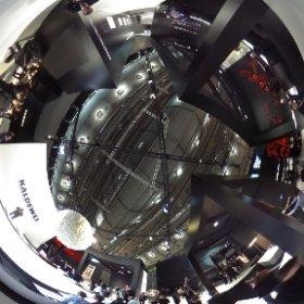 Mords große Messestände in Halle 3.1 - hier Kaldewei im 360 Grad Blick #theta360