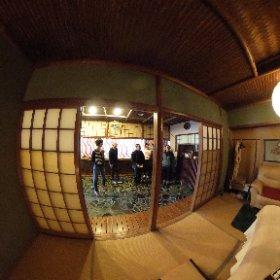 枕崎駅前通りにアロマのお店『aroma room』が出来ました! #theta360