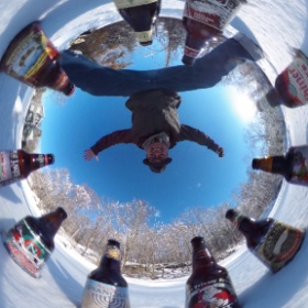 360 degrees of Holiday Beers!  See any you like?  What's your favorite?