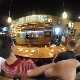 Big crowd at @BooCancer and Boo Brew 3! #CancerSucks #theta360