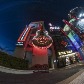 Hard Rock Cafe Single DNG developed in LR +Stitcher #thetaz1 #theta #thetaのある生活 #theta360