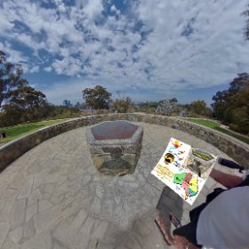 360 spherical at Roe Gardens in Kings park, reclusive treasure of shaded lawns, views across the Swan river and walking adventures, SM hub https://goo.gl/NcMjcc BEST HASHTAGS  #RoeGardensKingsPark   #KingsParkWA   #Perth #Butterfly3d