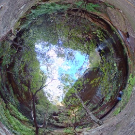 Grand Canyon Waterfall - Blue Mountains National Park #theta360