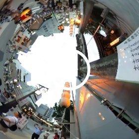 博多祇園山笠 参拝  #theta360