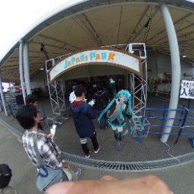 ようこそジャパリパークへ! #Miku360 #けものフレンズLIVE #theta360