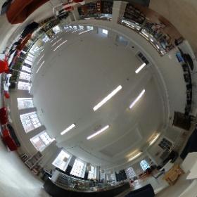 York Explore libary cafe #theta360