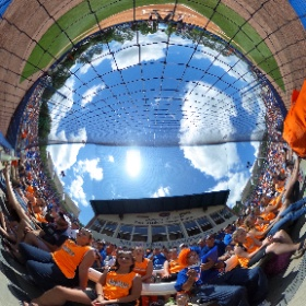 360 degree view of a Saturday afternoon softball game between Florida and Mississippi State. #theta360