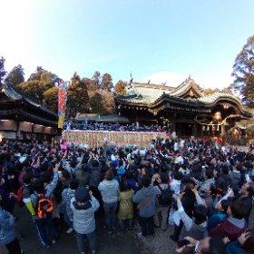2018筑波山神社年越祭(茨城県つくば市) #theta360