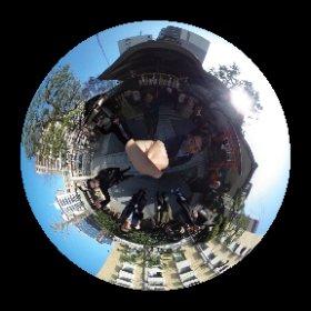 インフォバーンKYOTO、御用始めいたします。御池八幡さんで初詣。皆さん、明けましておめでとうございます!本年もよろしくお願い致します。 #theta360