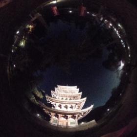 Daigoji pagoda #theta360