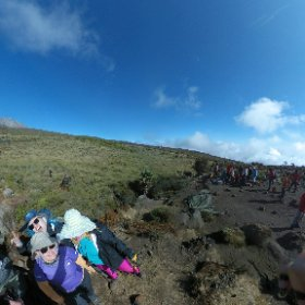 Maah Keita and the Climb for Albinism team #ClimbforAlbinism #Kilimanjaro