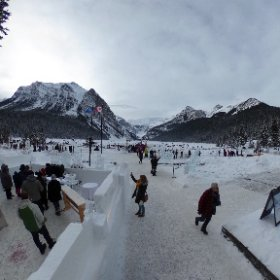 Photosphere: Ice Magic Festival and the Ice Bar at @FairmontCLL, Lake Louise, #Banff NP.