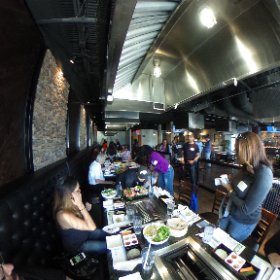 #seoulofthesouth Korean food tour with #exploregwinnett at The Stone Grill in #Duluth  #theta360