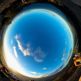 Crater Climb, Hawaii #theta360