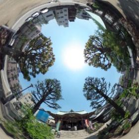 今戸神社(東京)  photo : 360度カメラ研究会(http://camera-360do.com/) by ほーりー