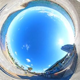 愛知県常滑市大野町 大野海水浴場 2018年11月 #theta360