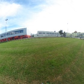 Schule Sportplatz  #theta360