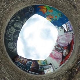 #streetart #gent #ghent visitgent click to view #360view #theta360
