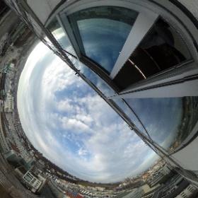 #from tenth floor #vom zehnten Stock #theta360 #theta360de
