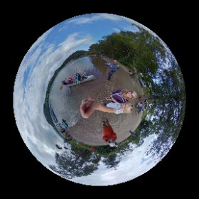 🛶 Canoeing on Ullswater with family and friends. August 2018. #theta360 #theta360uk