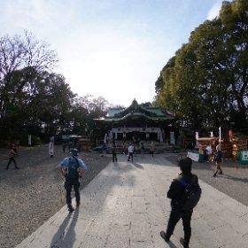 #ちゃらぽこ散歩会 大宮八幡宮