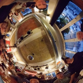 In the restaraunt #theta360