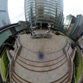 simple blur nadir #theta360