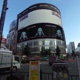 新宿たーのしー!! #Miku360 #theta360