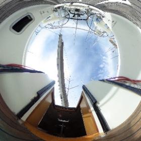中古艇ドットコム アズリー33 デッキ周り写真