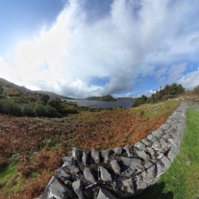 Glen, Oughterard, Lough Corrib, Galway, Ireland #theta360 #theta360uk