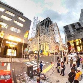 第23回 神戸ルミナリエ 残照、点灯直前 2018 Kobe Luminarie  - Guardando al futuro #illumination #Luminarie #光の饗宴 #theta360