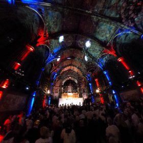 HEROES' PARADE RECEPTION: Lord Seb Coe following PM Theresa May addressed #TeamGB Olympic and Paralympic heroes at this VIP reception inside magnificent Manchester Town Hall after the city centre parade. #theta360 #theta360uk