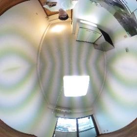 世田谷区用賀にあります「足立ビル」ワンルームマンションのパノラマ写真です。用賀駅まで歩いて6分と買い物に便利。物件詳細はこちらhttp://www.futabafudousan.com/bukken/g/syousai/728dat.html #theta360