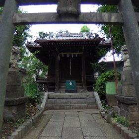 雑色八幡神社。 #theta360