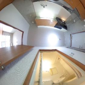 カンセイホームあすくに家1Kタイプキッチン&バスルーム