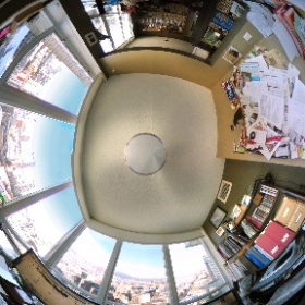 My current office... it might be time to make it a bit more orderly. The start to a new year? #theta360