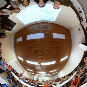 "Full house for ""Events in a Digital Age"" featuring Alex Brekke @AmazonWatch, Rebecca Elcome, Sara Hoshooley @CFCanada & Tatiana Souza @CIBrasil at @theresalliance #IFC2019 in #Noordwijk #Netherlands #IFCHolland #theta360"