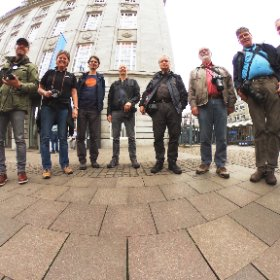 The first participants start to show up #FotoTVHH #theta360de