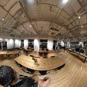 20211012 Zebra Coffee and Croissant Yokohama #theta360