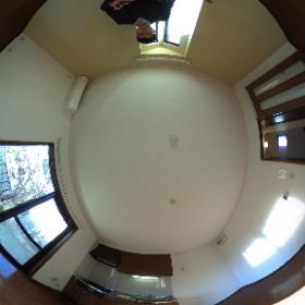 世田谷区中町にあります「プルミエ中町」2LDKテラスハウスの1階LDKパノラマ写真です。物件詳細はこちらhttp://www.futabafudousan.com/bukken/g/syousai/528dat.html #theta360