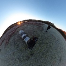 A great morning under a clear blue sky! #theta360