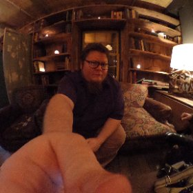 At dinner after the Sony a9 launch. #theta360