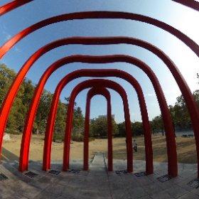 ふくやま美術館の360°全天球画像 #theta360