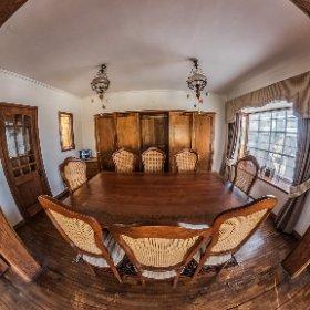 Fotografía de interior (comedor), demo para inmobiliarias.
