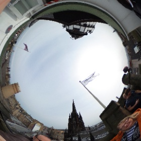 Camera Obscura Edinburgh #theta360