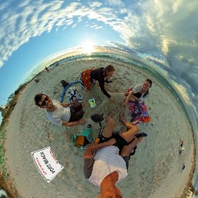 Port Beach Fremantle, recreational facilities, parking, cafe beautiful sunset, SM hub https://goo.gl/XesejW BEST HASHTAGS  #PortBeachFremantle   #VisitPerthWA  #waAchiever   #FremantleWA #theta360